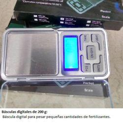 Básculas digitales de 200 g