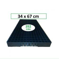 Charolas para germinación de 392 cav